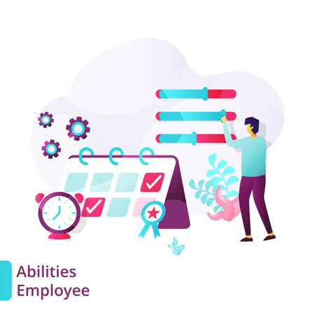 Abilities Employee Illustration