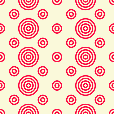 Abstract geometric pattern with stripes, lines and circle shape Illustration