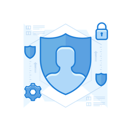 Account Security Illustration