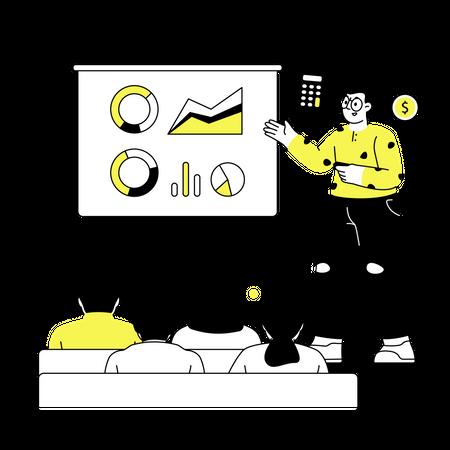 Accounting seminar Illustration