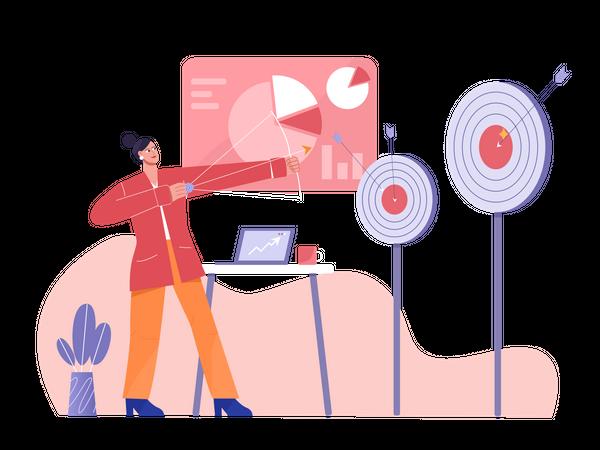 Achievement Target Illustration