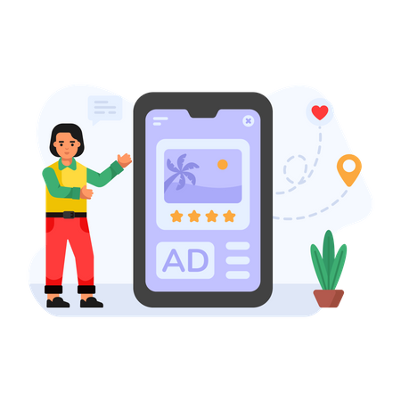 Ad Review Illustration