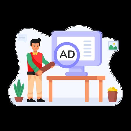 Ad Search Illustration