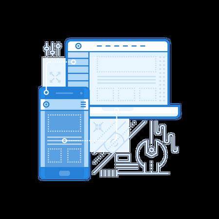 Adaptive UI Illustration