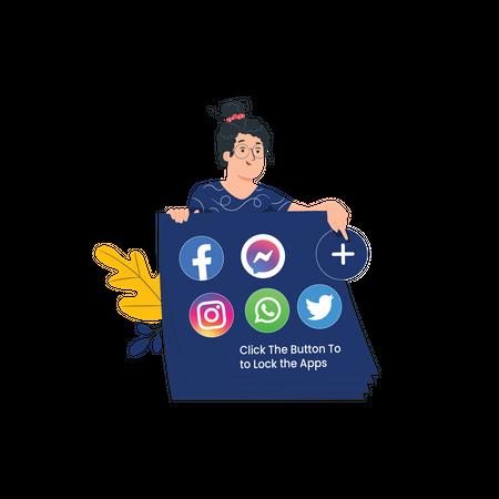 Add Apps to Locker Illustration