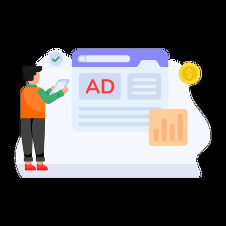 Ads Payment Illustration