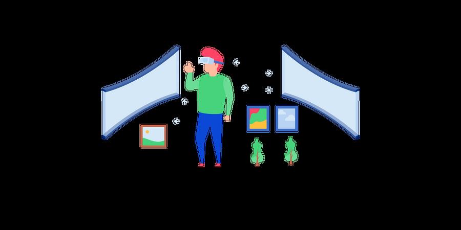Advance technologies Illustration