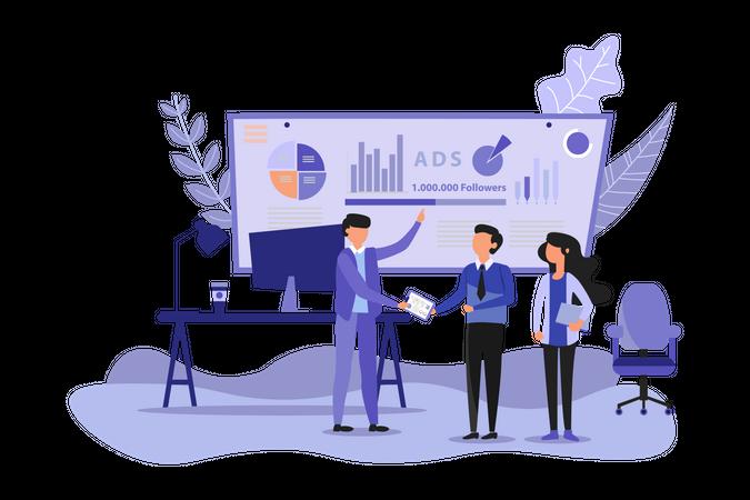 Advertising Campaign Illustration