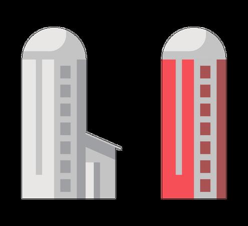 Agricultural building Illustration