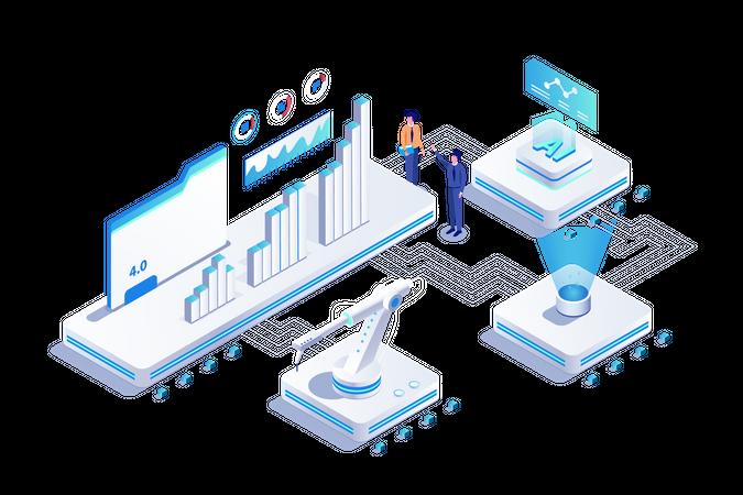 AI Tech Illustration