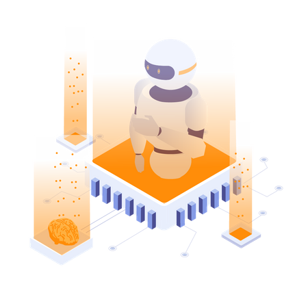 AI Technology Illustration