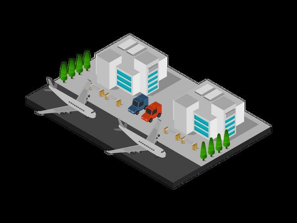 Airfield Illustration