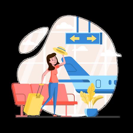Airport Illustration