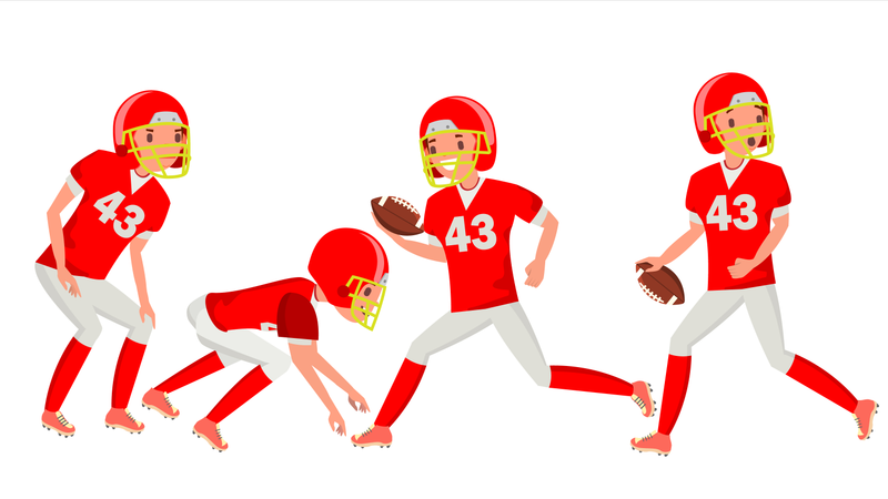 American Football Male Player
