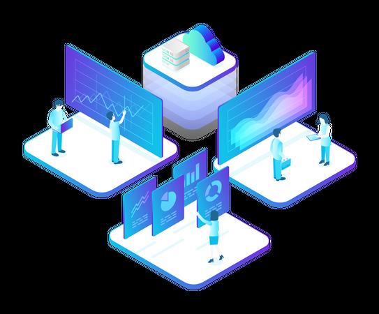 Analytics Systems Illustration