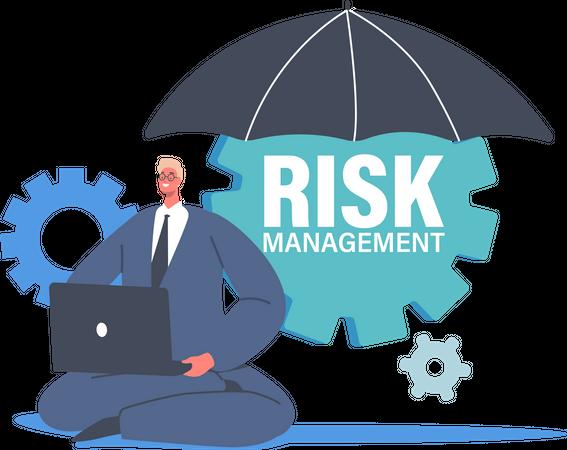 Analyze Risk Management Illustration