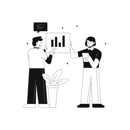 Analyzing sufficient data Illustration