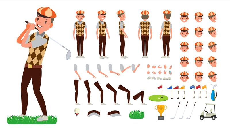 Animated Character Creation Illustration