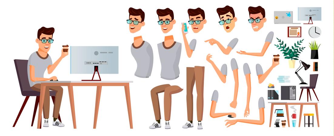 Animation Characters Illustration