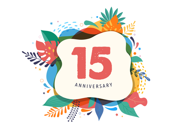 Anniversary celebration Illustration