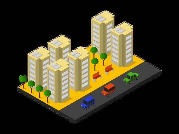 Apartments Illustration