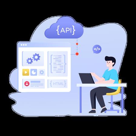 API Development Illustration