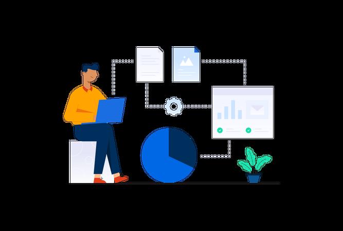 App Integration Illustration