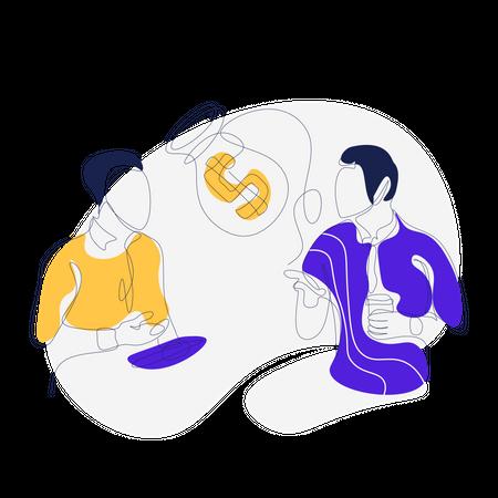 App Referral Reward Illustration
