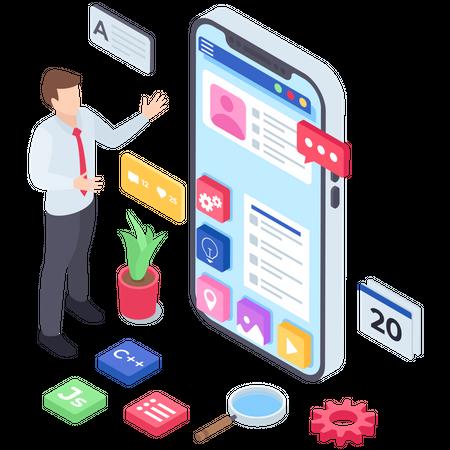 Application Development Illustration
