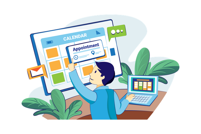 Appointment Scheduling Illustration