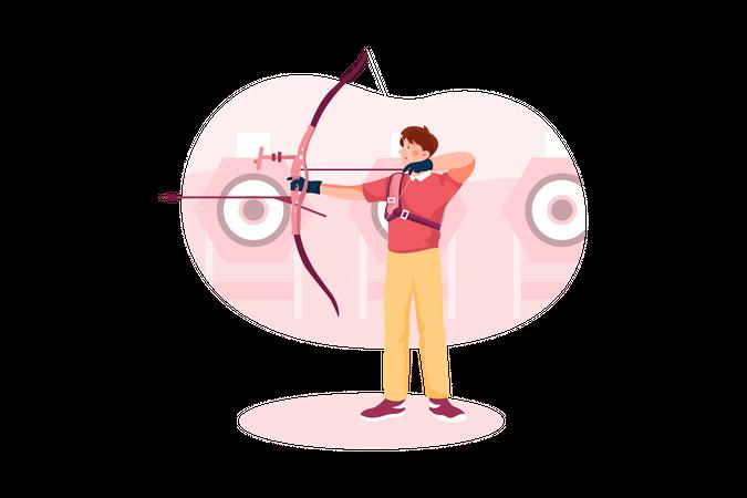 Archery Illustration