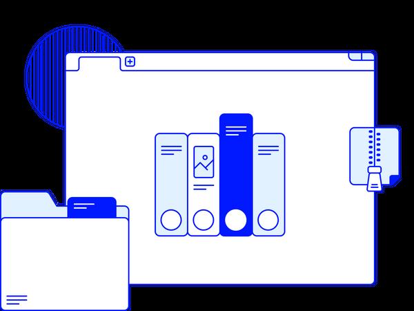 Archive Illustration