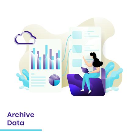 Archive Data Illustration