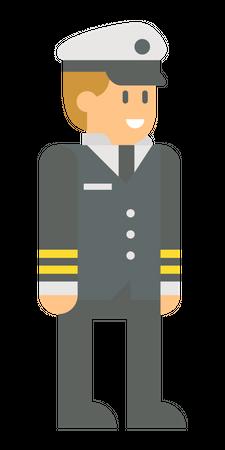 Army General Illustration