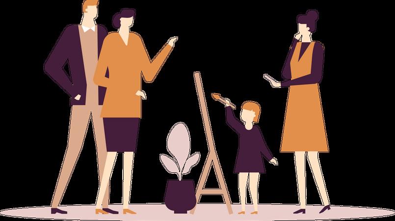 Art classes Illustration