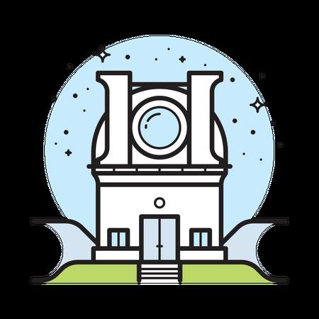 Astronomy Lab Illustration