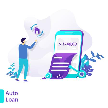 Auto Loan Illustration
