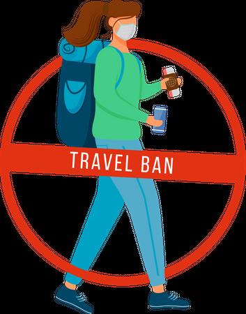 Avoid transportation Illustration