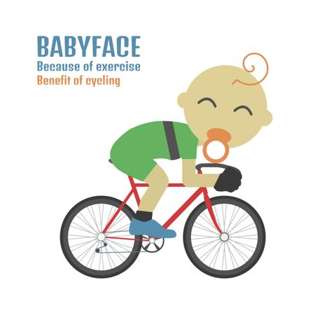 Babyface Cyclist