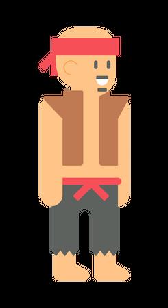 Bandit Illustration