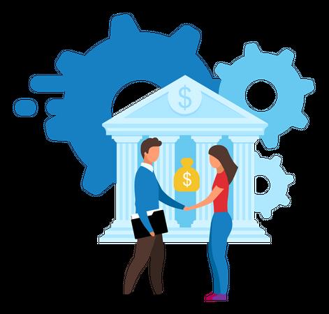 Banking offer Illustration