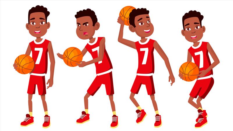 Basketball Playe Illustration