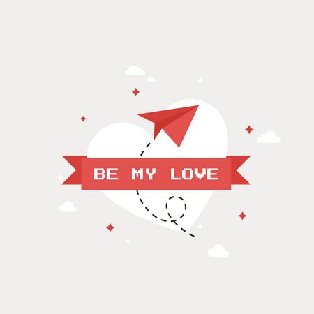 Be My Love Illustration
