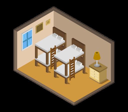 Bedroom Illustration