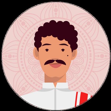 Bengali male Illustration