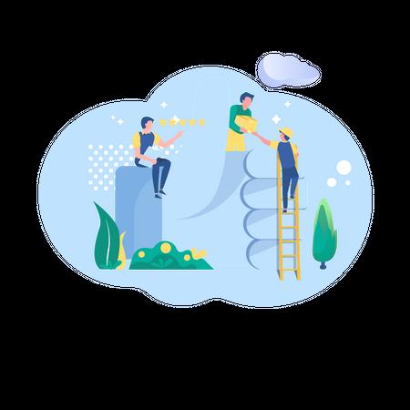 Best delivery services Illustration