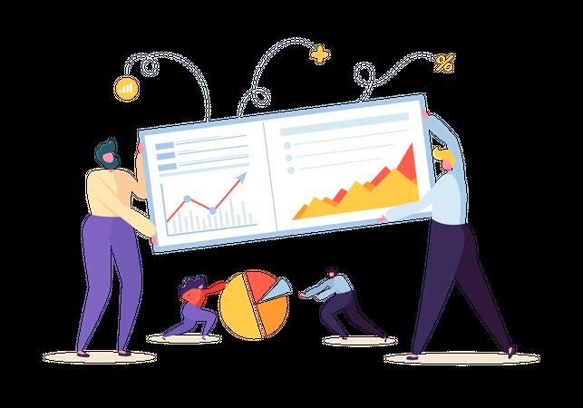 Big Data Analysis Strategy Illustration