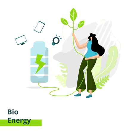 Bio Energy Illustration