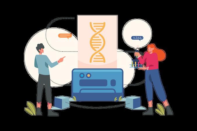 Bioinformatics Illustration