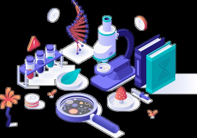 Biology Illustration